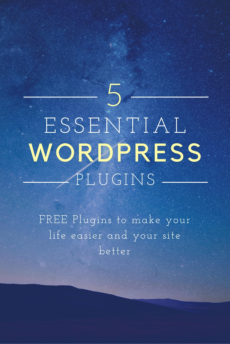5 Essential Free WordPress Plugins