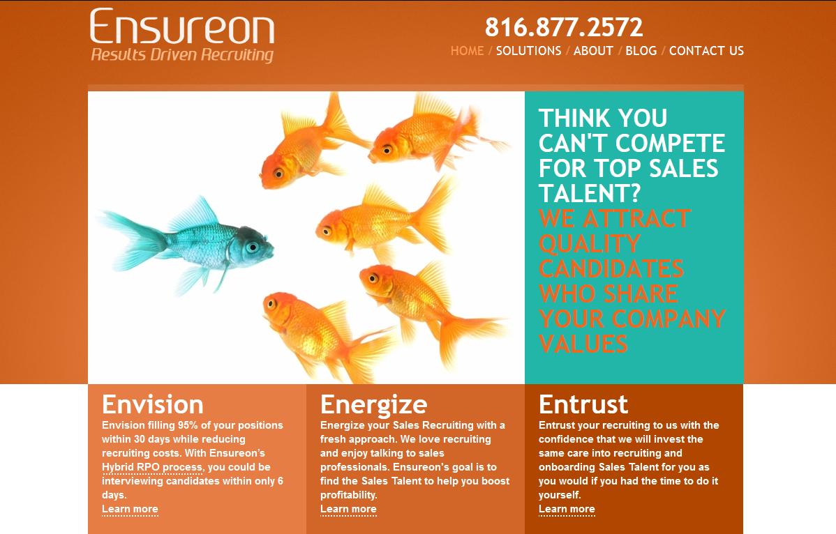 Website Design for Recruiters